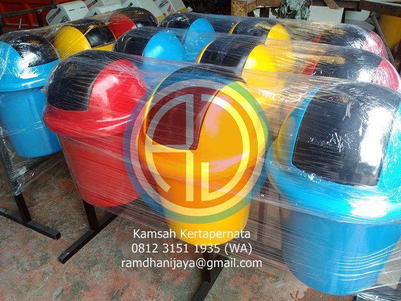 supplier tong sampah fiber